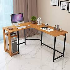 L shaped office desk cheap Solid Wood Jerry Maggie Shaped Office Desk Computer Desk Table Personal Working Space Lapdesk Corner Amazoncom Amazoncom Jerry Maggie Shaped Office Desk Computer Desk