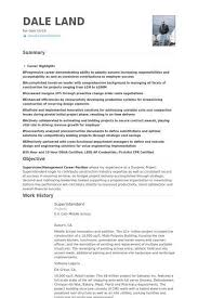 Construction Superintendent Resume Templates Gorgeous 28 Construction Superintendent Resume Sample Free Resume