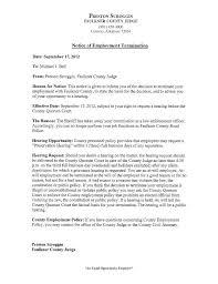 Notice Of Employee Termination | Nwaonline