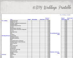 Free Printable Wedding Planner Workbook Excel Download Them Or Print