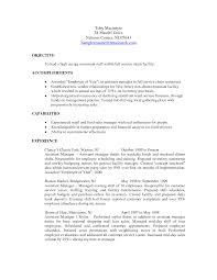 Restaurant Resume Objectives Choose Best 20 Resume Objective