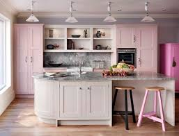 Light Pink Kitchen Pink Kitchen Decor Home