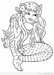 printable mermaid coloring pages. Fine Coloring Printable Mermaid Coloring Pages 3 Throughout E
