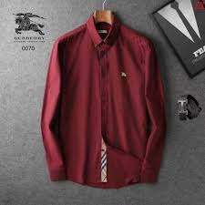 burberry aaa long sleeved shirts for men 006