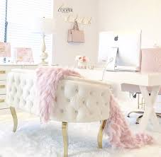 pink home office. Blush Pink Home Office