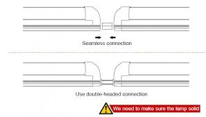 how to install led tube installation of led tube and wiring all in one led tube