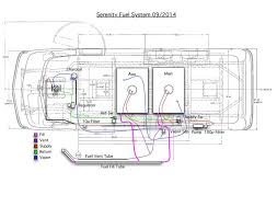 schematic of fuel system gmc rv pinterest gmc motorhome, gmc gmc motorhome wiring diagram schematic of fuel system