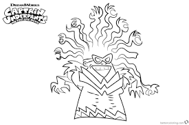 Captain Underpants Coloring Pages Tara Ribble The Adventures Of