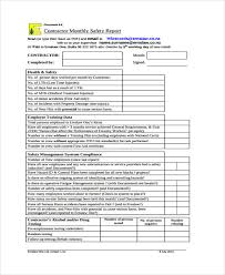 Monthly Performance Report Format 36 Monthly Report Samples Free Premium Templates