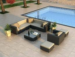 Contemporary Patio Furniture Sets Image Of High End Contemporary