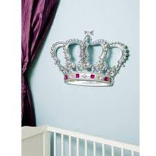 on 3d princess crown wall art decor with 3d princess crown wall art decor