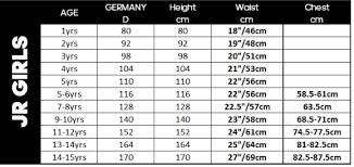 Youth Swim Jammer Size Chart Swimwear Size Charts Performance Swimwear