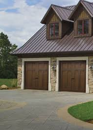 O Modern Wood Garage Doors Canyon Ridge Ultra Grain