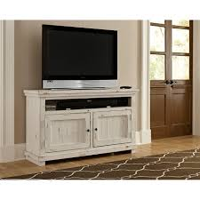 white tv entertainment center. 54 Inch Distressed White TV Stand - Willow Tv Entertainment Center
