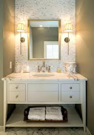 Powder Room Tile Ideas Design Traditional With Accent Wall