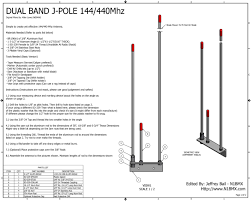 J Pole Antenna Design Calculator Ive Constructed A 144 440 Dual Band Open Stub J Pole
