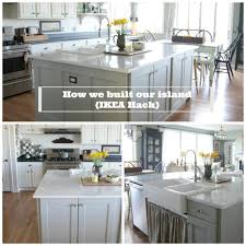 Kitchen Island Made With Ikea Cabinets Trendyexaminer
