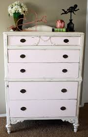 i will use my diy chalk paint again the soft pink and creamy white is a perfect match for this piece