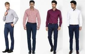 Shirts With Pants Mens Guide To Perfect Pant Shirt Combination Blue Pants
