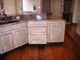 distressed kitchen cabinets style