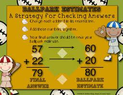 Ballpark Estimating Strategy Anchor Chart