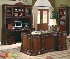 traditional office furniture. Perfect Office Image Is Loading 4pcTraditionalOfficeFurnitureSetExecutiveDesk On Traditional Office Furniture