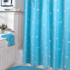 dark teal shower curtain. veratex glow-in-the-dark stellar shower curtain dark teal m