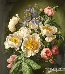 handmade flower paintings for flower paintings by famous artists hwp016 photo to paintings oil painting reions