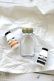 Painted Mason Jars Halloween Drip Painted Mason Jars Diy Momdot