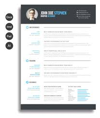 Free Modern Resume Templates Browse Free Ms Word Modern Resume Template Modern Resume Template 19