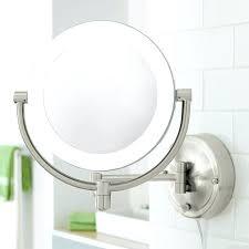 wall mounted magnifying makeup mirror natural light wall mirror wall intended for wall mounted magnifying mirror ideas