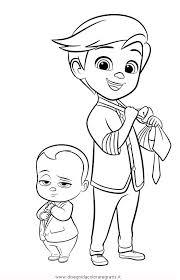 Disegno Baby Boss 14 Personaggio Cartone Animato Da Colorare