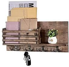 mail holder organizer wall mount