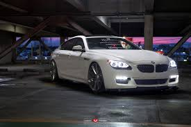 Coupe Series bmw 650i coupe for sale : BMW 6 Series Gran Coupe Rocking Vossen Wheels