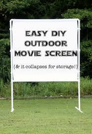 diy outdoor screen