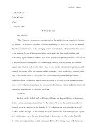 Apa Format Essays Format Essays How To Write A Essay For High School