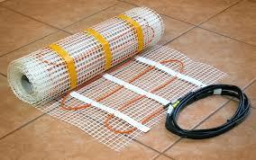 heated bathroom flooring. Heated Floors Bathroom Infrafloor Mats Pre Spaced Cable Provides Maximum Installation Speed And Convenience Worth It Flooring T