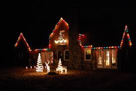 White Or Colored Christmas Lights On House Diligent Daddy Christmas Traditions 2 Outside Decorating
