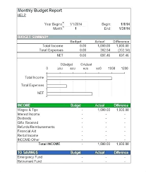 Budget To Actual Template Microsoft Excel 2014 Excel Calendar Templates Excel Calendar