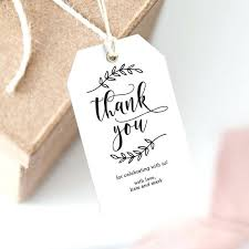 thank you tags for wedding favors wedding thank you tags template image 0 free wedding favor tag