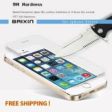 9h tempered glass iphone screen protector protective guard clean kits