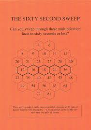 60-Second Sweep – The Easy Way to Learn Multiplication Facts ...