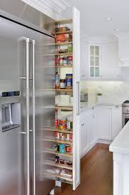Pantry Cabinet: Thin Pantry Cabinet with Pull Out, narrow, sliding ...