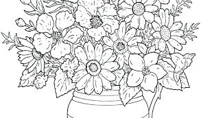 Flower Color Pages Gopaymentinfo