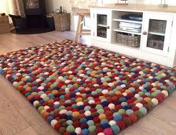 felted wool rugs rug grey scandinavian