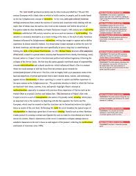 Annotated Essay Example Examples Baret Houseofstrauss Co Paper