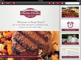 Omaha Steaks Steak Time Hd On The App Store