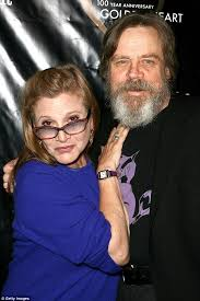 carrie fisher 2014 star wars. Interesting Fisher Mark Hamill Has Written An Emotional Goodbye Letter To His Former Star Wars  Costar In Carrie Fisher 2014