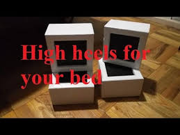 bed risers and easy diy