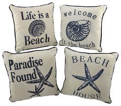 Decorative Pillows Beach Theme